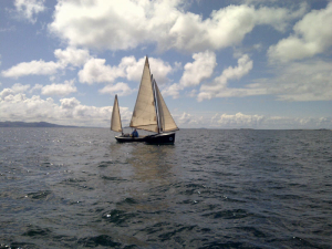 Askari under plain sail